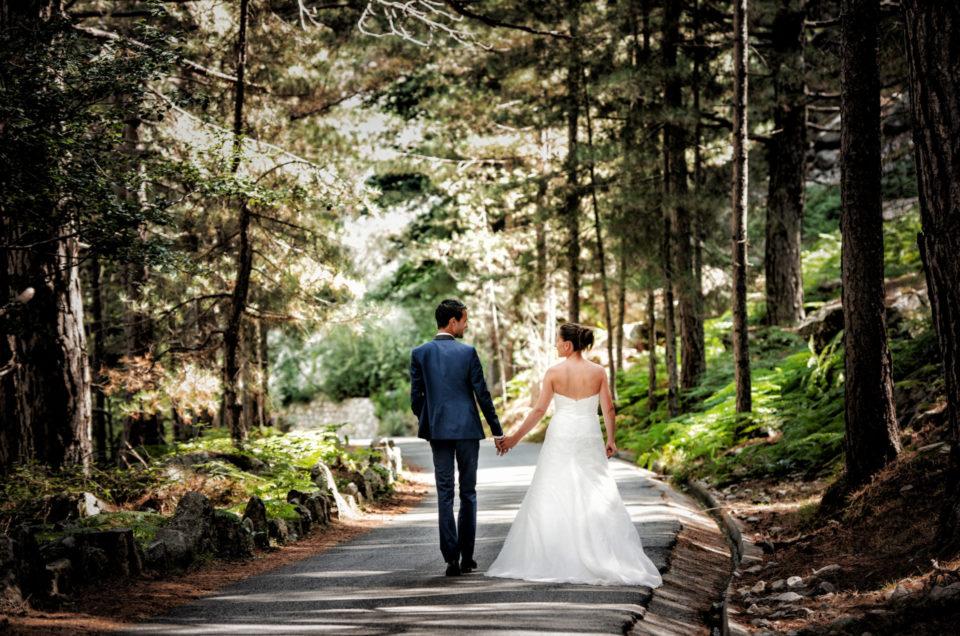 Céline et Christopher ont choisi de faire appel à un photographe professionnel de mariage pour leur jour J… mais pas seulement !
