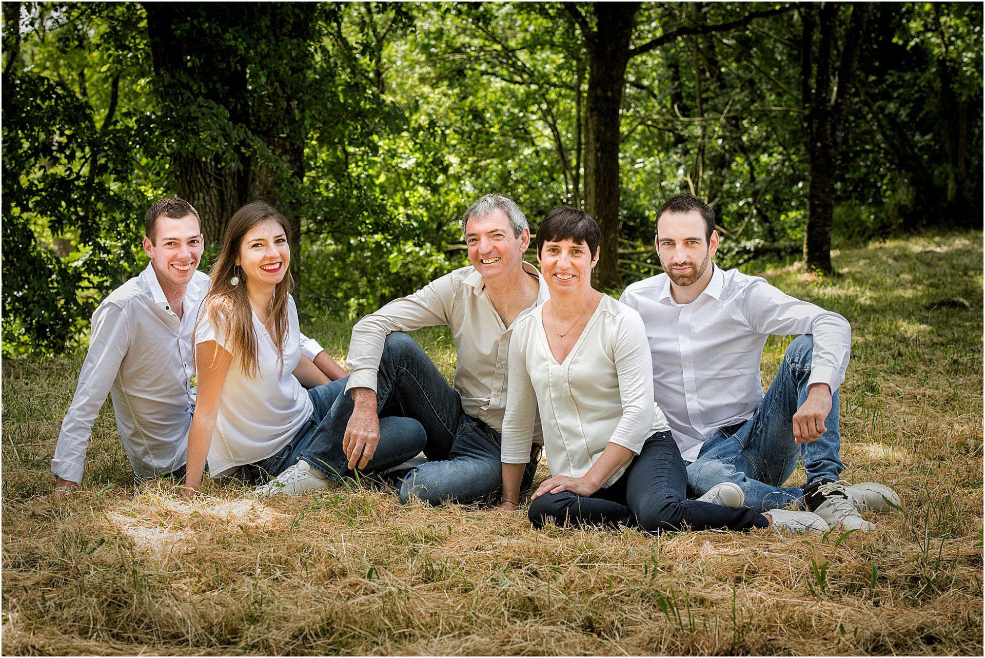 Photographe de portrait de famille