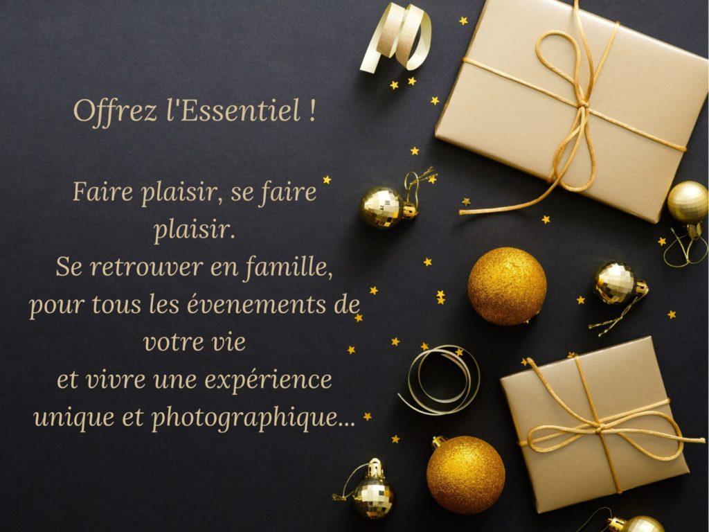 CARTE CADEAU noël PHOTOGRAPHE