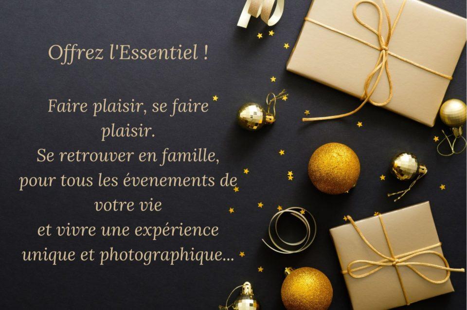 Pour Noël, offrez une carte cadeau pour une séance chez un photographe professionnel