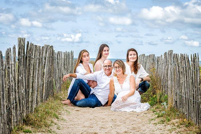 Et si vous alliez à la mer pour réaliser une séance photo de famille ?